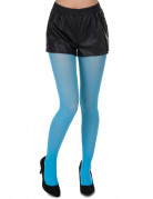 Collants turquoise adulte