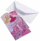 6 cartes d'invitation Barbie™