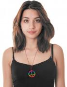 Collier hippie multicolore