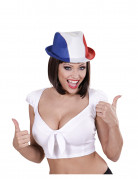 Chapeau borsalino supporter France adulte