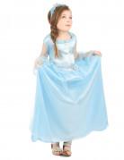Déguisement princesse bleue claire fille