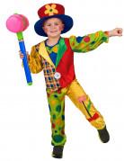 D�guisement clown multicolore gar�on