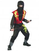 Déguisement ninja dragon jaune garçon
