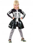 Déguisement squelette fille