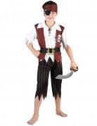 Déguisement pirate noir et blanc garçon