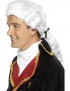 Perruque blanche baroque adulte
