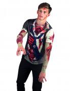 T-Shirt zombie adulte Halloween