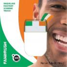 Maquillage vert blanc orange