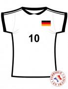 Vous aimerez aussi : Décoration murale maillot Allemagne
