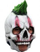 Masque 3/4 squelette punk adulte