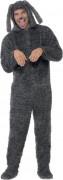 Déguisement chien gris adulte