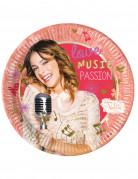 8 Assiettes Violetta passion™ 23 cm