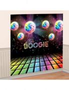 Décoration murale Boules à facettes Disco 165 x 165 cm
