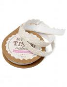 Vous aimerez aussi : Ruban tissu adhésif dentelle ivoire 10 mm x 2 m