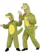 Déguisement de couple crocodile père et fils