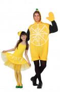Déguisement de couple citron père et fille