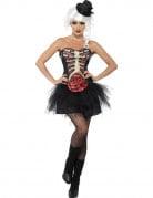 Vous aimerez aussi : Déguisement squelette poitrine ouverte femme Halloween