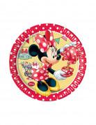 8 Petites assiettes Minnie café™ 20 cm