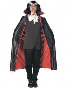 Cape satinée vampire réversible 125 cm adulte Halloween