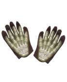 Gants squelette phosphorescents enfant Halloween