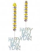 Décoration à suspendre nouvel an Happy New Year