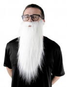 Barbe blanche longue adulte