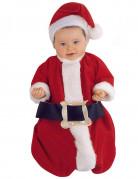 Déguisement Père Noël luxe bébé