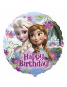 Ballon aluminium Happy Birthday La Reine des Neiges™