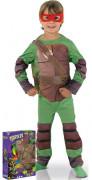 Coffret déguisement luxe rembourré Tortues Ninja™