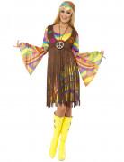 Vous aimerez aussi : Déguisement hippie fleurs année 70 femme