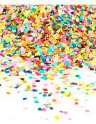 Sachet de confettis 100 gr multicolore