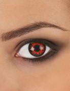 Lentilles fantaisie oeil vampire adulte Halloween