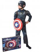 Coffret déguisement Captain America The Winter Soldier™ rembourré enfant