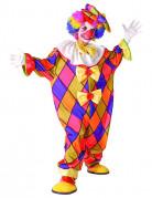 D�guisement Clown � carreaux enfant