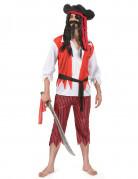 Vous aimerez aussi : Déguisement pirate rouge et blanc homme