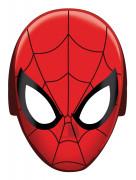 8 Masques en carton Spiderman™