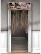 Décoration de porte Zombies