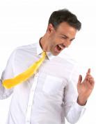Cravate jaune fluo adulte