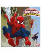 Vous aimerez aussi : 20 Serviettes en papier Spiderman Web-Warriors™ 33 x 33 cm