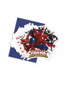 Vous aimerez aussi : 6 Cartes d'invitation avec enveloppes Spiderman Web-Warriors™