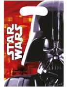 Vous aimerez aussi : 6 Sacs cadeaux Dark Vador Star Wars™ 16,5 x 23 cm