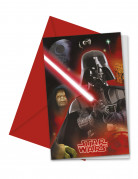6 Cartes invitations Star Wars™