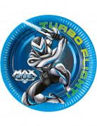 8 Assiettes Max Steel ™ 23 cm