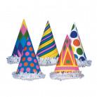 Vous aimerez aussi : Chapeau de fête en carton coloré aléatoire 16 x 10 cm
