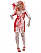 Déguisement zombie infirmière femme Halloween