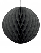 Vous aimerez aussi : Boule en papier alvéolé noir 20 cm