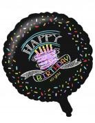 Vous aimerez aussi : Ballon aluminium Confettis Happy Birthday 46 cm