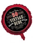 Vous aimerez aussi : Ballon aluminium anniversaire Vintage 50 ans 46 cm