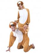 Déguisement lion combinaison adulte