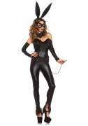 Déguisement lapin noir sexy femme